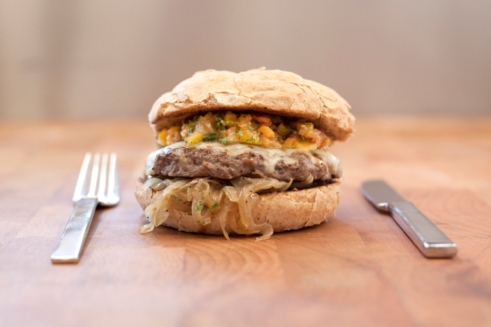 Red River Culinary Exchange - The South Africa Burger