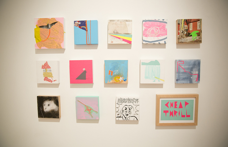 paintings by cyrus smith. photographed by brett howe