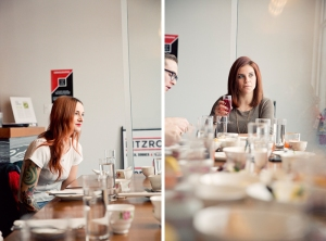 table manners at fitzroy. photographed by brett howe