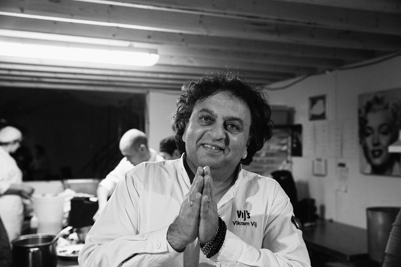 vikram vij at raw:almond. photographed by brett howe