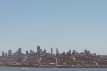 San Fransisco from Alcatraz