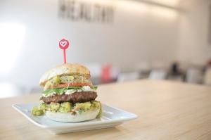 Nuburger for Burger Week Winnipeg 2014 © Charcoal Collaborative