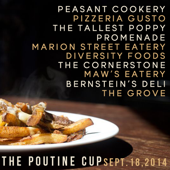 the poutine cup 2014 participants ©charcoal collaborative