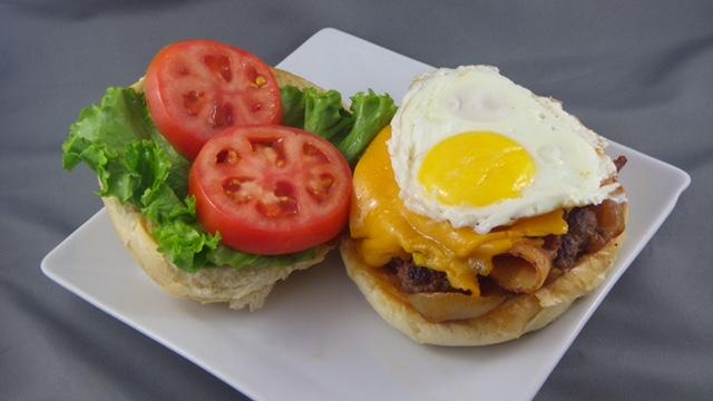 Nobside Cafe Burger © charcoal collaborative