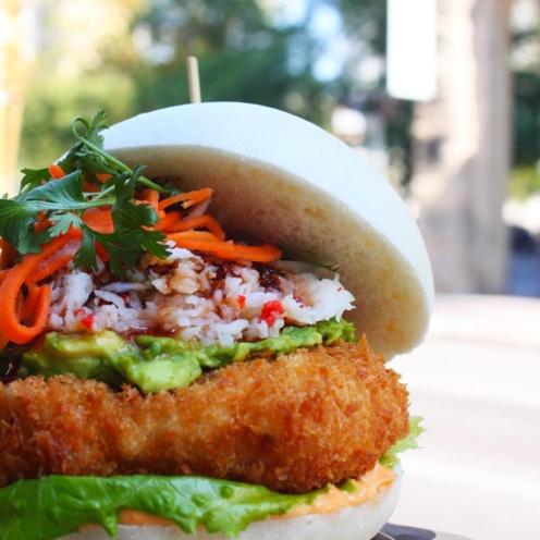 "Chosabi ""Cho-mama Burger"" / Photo Credit @chosabican"