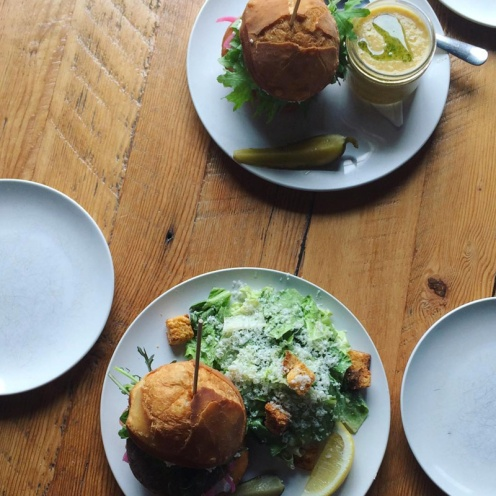"""PEG Beer Co. """"The Watermelon and Roll Kuchen Burger"""" / Photo Credit @tanith_nz"""